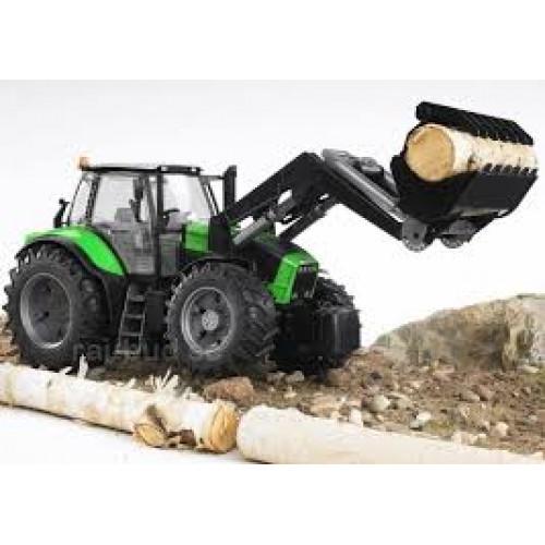 Bruder - трактор Agrotron X720 с погрузчиком 03081
