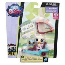 Littlest Pet Shop Городской транспорт Opaline Featherwisp/Rowdy Apto B5040