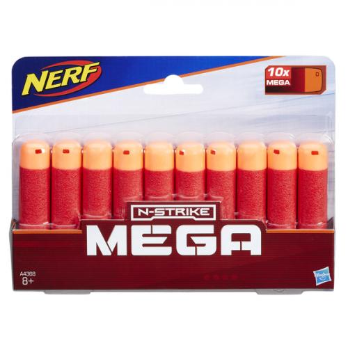 NERF Мега Набор патронов – 10 стрел A4368