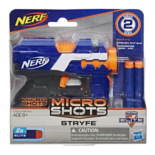 NERF Игрушка бластер Микрошот  E0489/E1624
