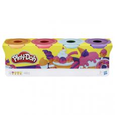 Hasbro Play-Doh Набор пластилина из 4х банок по 112 г, E4869 PD SWEET  B5517