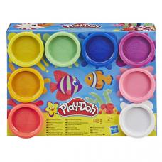 Hasbro Play-Doh Игровой Набор Плей-До 8 цветов RAINBOW E5044/E5062