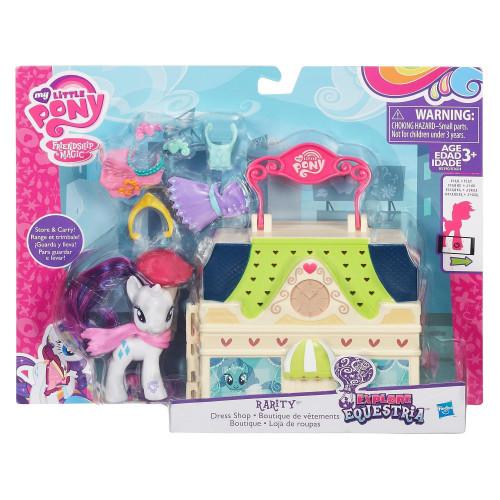 My Little Pony Май литл пони серия Мейнхеттен «Rarity» B5390
