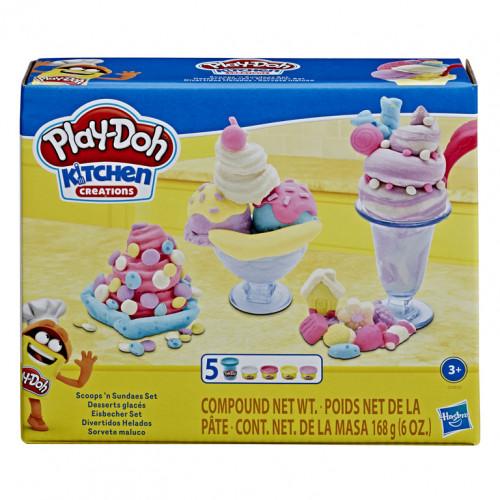 Hasbro PD Набор игровой Плей-До Кухонные принадлежности E7253/E7275