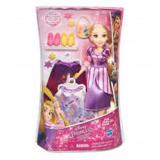 Disney Princess Модная кукла Принцесса Рапунцель в платье со сменными юбками B5315