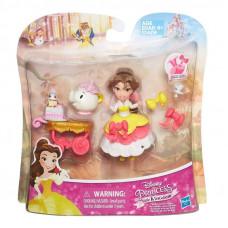 Disney Princess Маленькая кукла Принцесса Белль с аксессуарами B5335