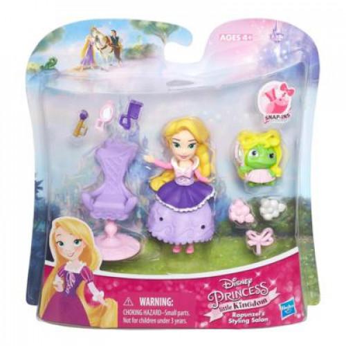 Disney Princess Набор маленькая кукла Принцесса Рапунцель с аксессуарами B5337