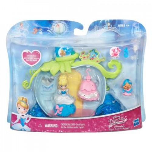 Disney Princess Игровой набор для маленьких кукол Принцесс «Карета Золушки» B5345