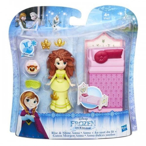 Disney Princess Маленькая кукла Холодное сердце с аксессуарами «Сияющая Анна» B5188/B7462
