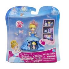 Disney Princess Маленькая кукла Принцесса Золушка в платье с волшебной юбкой B8965