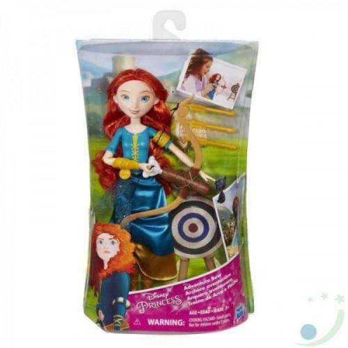 Disney Princess Модная кукла принцесса Мерида и ее хобби B9147