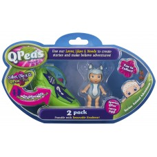 """Фигурки в стручке горошинки Qpeas """"Приключения животных"""" QP003 Морска выдра Оукли"""