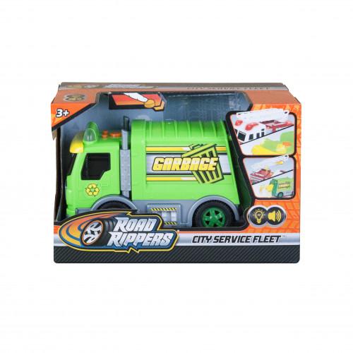 Игровая автомодель - Мусоровоз (световые и звуковые эффекты),  20022
