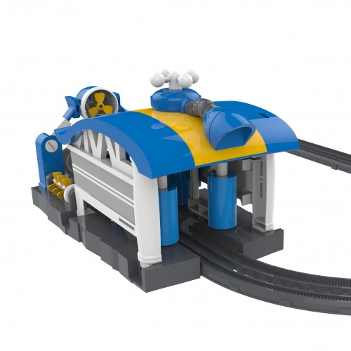 Игровой набор Robot Trains - Мойка Кея, звук  80171