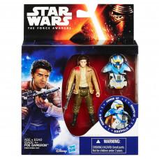 Star Wars Фигурка вселенной «Звёздные Войны» с броней 9.5 см Poe Dameron B3893
