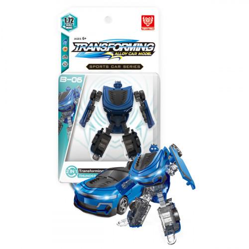 Трансформер металлический BB990-A2 (B-06 Blue Thunder)