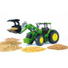 Трактор Джон с погрузчиком 1:16 03051