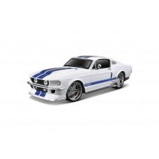 Автомодель Maisto (1:24) 1967 Ford Mustang GT белый металлик - тюнинг 31094 met. white