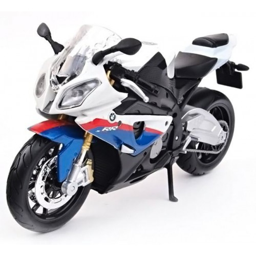 Модель мотоцикла Maisto 31101-10 BMW S1000RR white/blue 31101