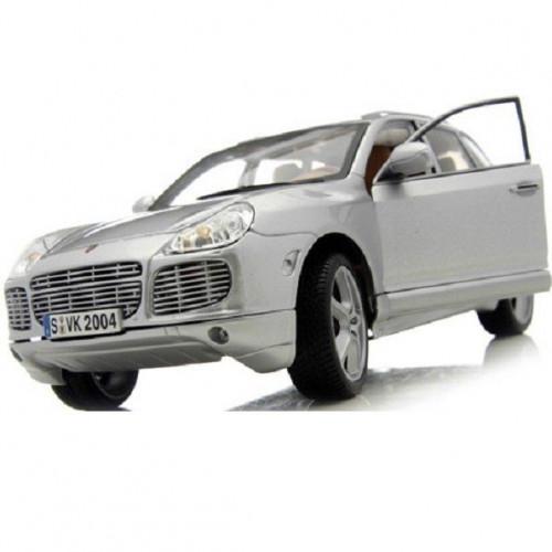 Автомодель Maisto (1:18) Porsche Cayenne Exclusive Turbo серебристый 31113 silver
