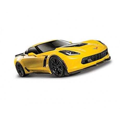 Автомодель Maisto (1:24) 2015 Chevrolet Corvette Z06 желтый 31133 yellow