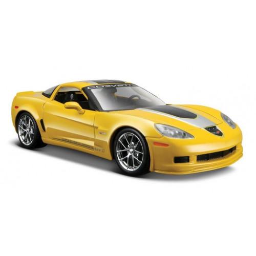 Автомодель Maisto (1:24) 2009 Chevrolet Corvette Z06 GT1 желтый 31203 yellow