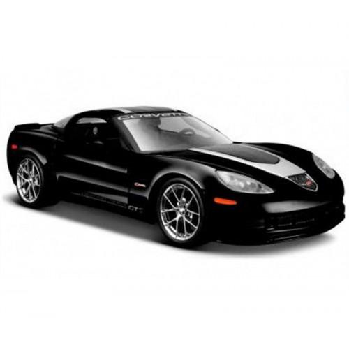 Автомодель Maisto (1:24) 2009 Chevrolet Corvette Z06 GT1 черный 31203 black