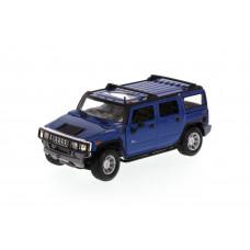 Автомодель (1:27) 2003 Hummer H2 SUV синий 31231 blue