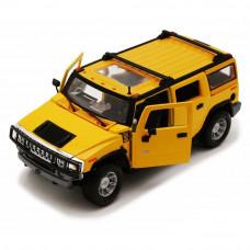 Автомодель (1:27) 2003 Hummer H2 SUV жёлтый