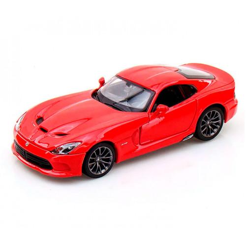 Автомодель Maisto (1:24) 2013 SRT Dodge Viper GTS, красный 31271 red