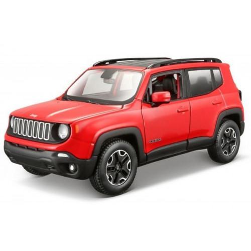 Автомодель Maisto (1:24) Jeep Renegade красный металлик 31282 met. red