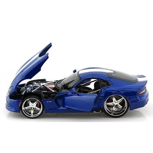 Автомодель Maisto (1:24) 2013 SRT Viper GTS синий металлик - тюнинг 31363 met. blue