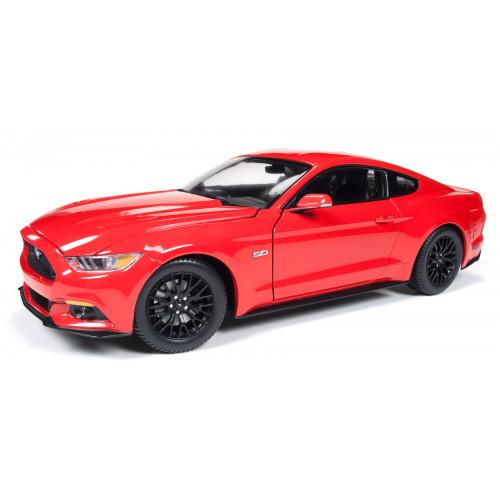 Автомодель Maisto (1:24) 2015 Ford Mustang GT красный - тюнинг 31369 red