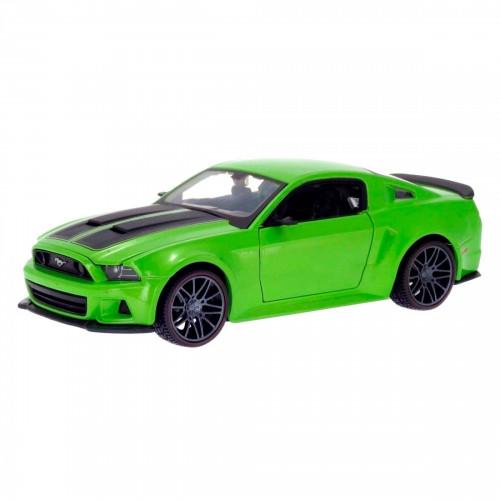 Автомодель Maisto (1:24) 2014 Ford Mustang Street Racer зеленый металлик 31506 met. green