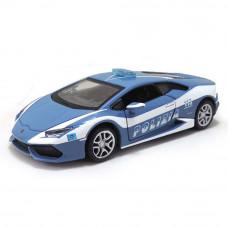 Автомодель Maisto (1:24) Lamborghini Huracan Polizia синий металлик 31511 blue