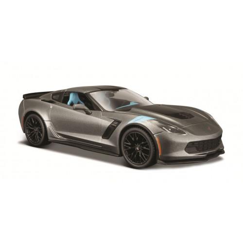 Автомодель Maisto (1:24) 2017 Corvette Grand Sport серый металлик 31516 met. grey