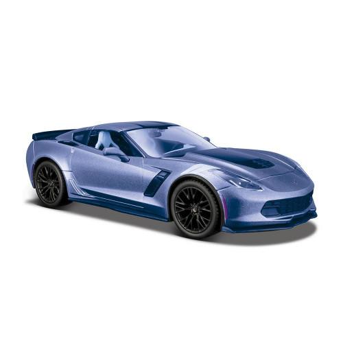 Автомодель Maisto (1:24) 2017 Corvette Grand Sport синий металлик 31516 met. blue