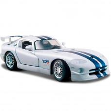Автомодель Maisto (1:24) Dodge Viper GT2 белый 31945 white