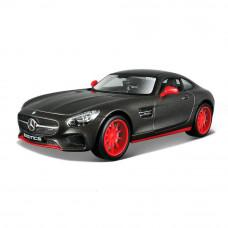 Автомодель Maisto (1:24) Mercedes - AMG GT серый металлик - тюнинг 32505 met. grey