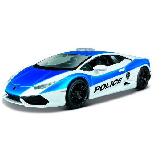 Автомодель Maisto (1:24) Lamborghini Huracan LP 610-4 бело-синий - тюнинг 32513 white / blue