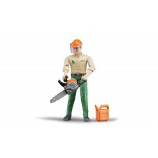 Фигурка рабочего леса с аксессуарами 10,7 см 60030