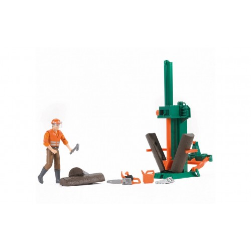Фигурка рабочего леса с аксессуарами 62650