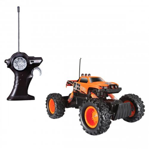 Автомодель Maisto на р/у Rock Crawler (аккум. 6v + 2хАА) оранжевый 81152 orange