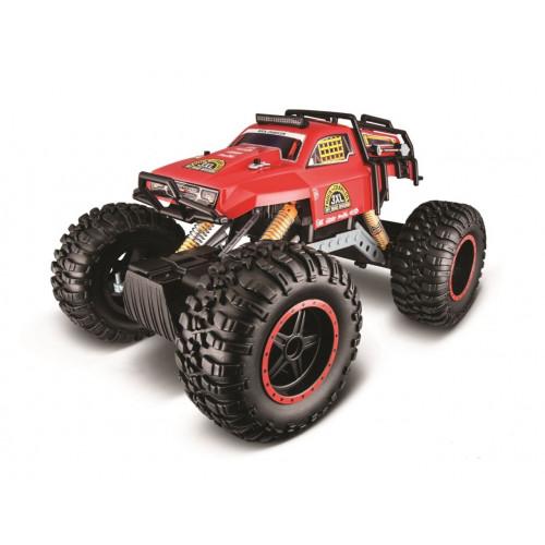 Автомодель Maisto на р / у Rock Crawler 3XL, 2.4 GHz, красный 81157 red