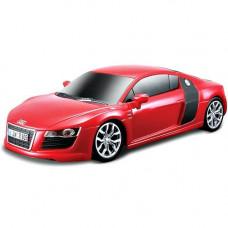 Игровая Автомодель Maisto Audi R8 V10 красный (свет. И звук. Еф.), М1: 24 2шт. бат. АА в комплект. 81225 red