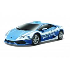 Игровая автомодель Lamborghini Huracan LP 610-4 Polizia синий М1: 24 81723 blue