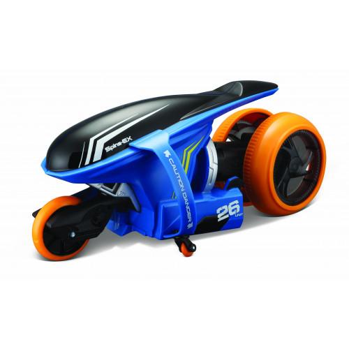 """Мотоцикл Maisto на р/у Cyklone 360 синий (функция """"полицейский разворот"""", светодиоды) 82066 blue"""