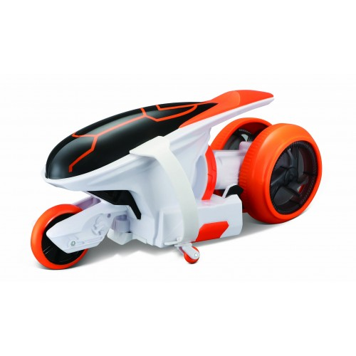 "Мотоцикл Maisto на р/у Cyklone 360 оранжево-белый (функция ""полицейский разворот"", светодиоды) 82066 orange/white"