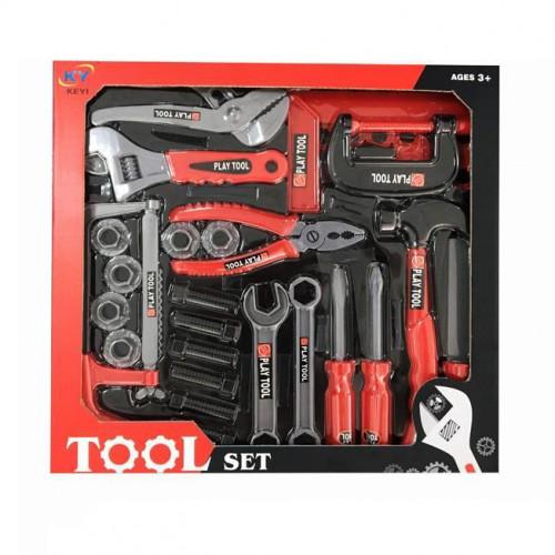 Игрушечные инструменты KEYI - набор инструментов, 37 шт KY1068-063