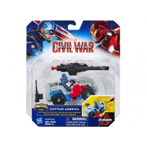 """Avengers Боевая машина Мстителей """"Капитан Америка"""" B6770"""